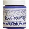 Embossing paste- Glossy Blue