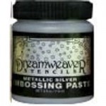 Embossing paste- Silver
