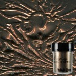 Midnight Bronze Obsidian Embossing Powder