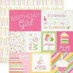 "Birthday Girl ""Journaling Card"""