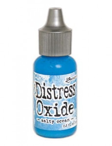 "Distress Oxide Reinker ""Salty Ocean"""