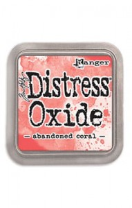 "Tusz  Distress Oxide Pad ""Abandoned Coral"""