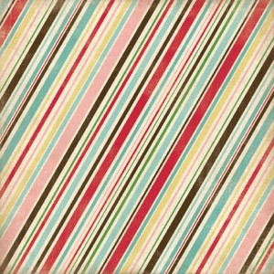 "Papier Homemade With Love ""Baking Stripe"""