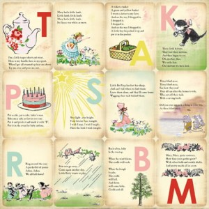 "Papier Mine Girl ""Girl Nursery Rhymes"""