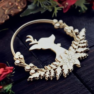 Reindeer with decoration