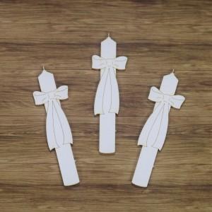 Tekturka Zestaw trzech świec