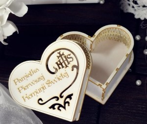 Communion box heart