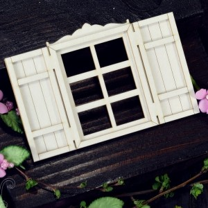 Window with shutters (small)
