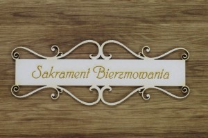 "Labels ""Sakrament Bierzmowania"""