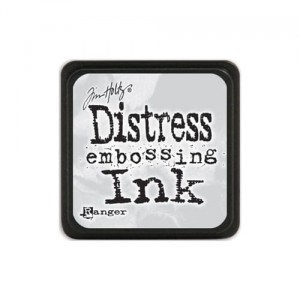 Tusz Mini Distress Pad  Embossing Ink