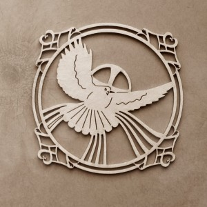 Tekturka Duch Święty ramka