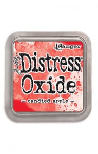 "Tusz Distress Oxide Pad ""Candied Apple"""