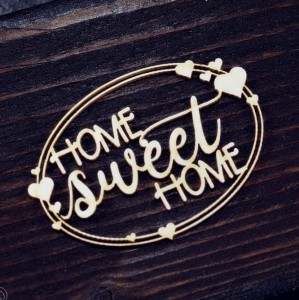 Tekturka  Home sweet home