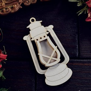 Shaker box Kerosene Lamp