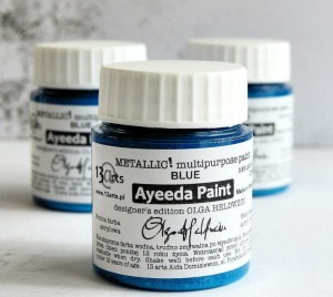 Ayeeda METALLIC Blue
