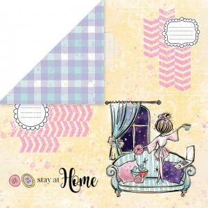 Papier Stay at home 03