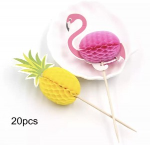 Topper flaming/ananas