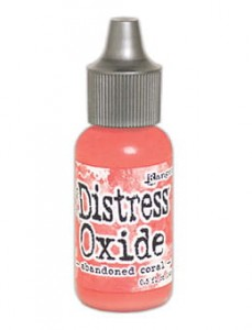 "Tusz  Distress Oxide Reinker ""Abandoned Coral"""