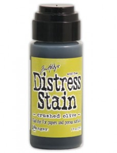 "Tusz Distress Stain ""Crushed Olive"""
