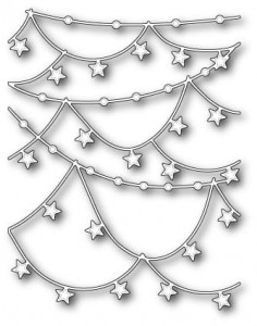 Wykrojnik  Star Garlands