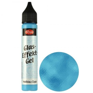 Glass Gel Light Blue