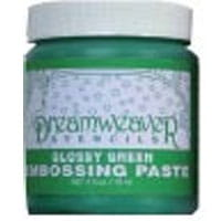 Embossing paste- Glossy Green