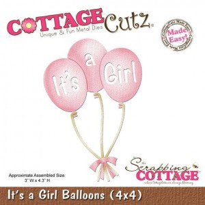 It's a Girl Balloons