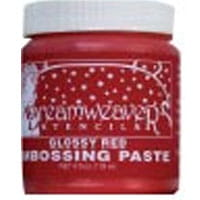 Embossing paste- Glossy Red