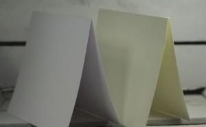 Baza do kartki kremowa 14 x 14