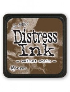 "Mini Distress Pad ""Walnut Stain"""