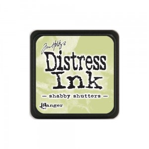 "Tusz Mini Distress Pad ""Shabby Shutters"""