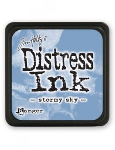 "Tusz Mini Distress Pad ""Stormy Sky"""