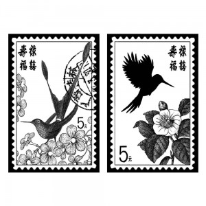 Stempel Tropical Bird Stamps