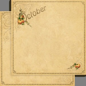 "Papier Place in Time ""OctoberFoundation"""