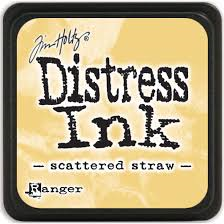 "Mini Distress Pad ""Scattered Straw"""