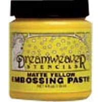 Embossing paste- Matte Yellow