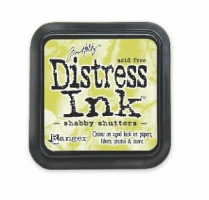 "Distress Pad ""Shabby Shutters"