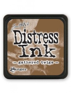"Mini Distress Pad ""Gathered Twigs"""