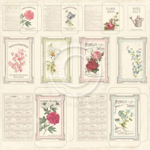 "Papier Vintage Garden ""Seed packets"""